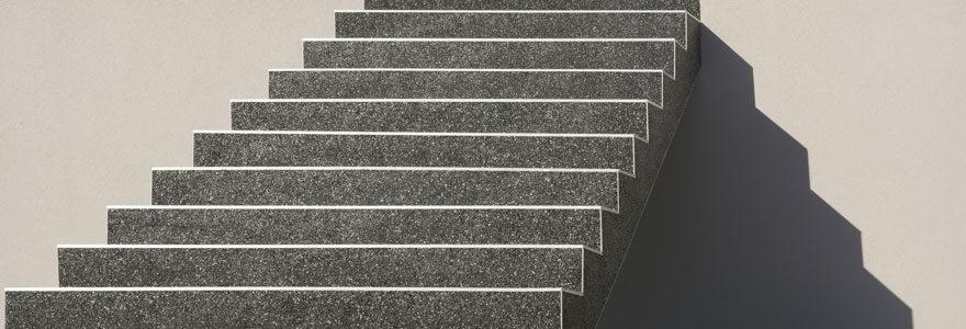 Résine pour escalier